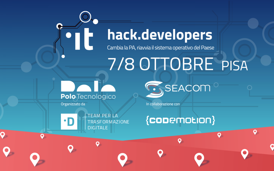 Seacom e Polo Tecnologico ospitano HACK.Developers 2017!