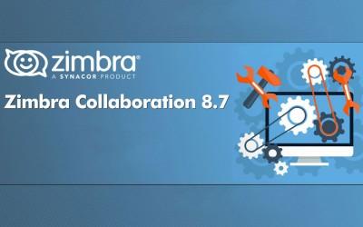 Zimbra Collaboration 8.7: la release ufficiale