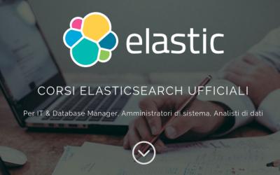 A Milano i corsi ufficiali Elasticsearch