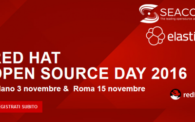 Redhat OSD 2016: Roma, Martedì 15 Novembre