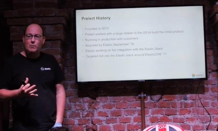 Meetup elastic: machine learning con prelert