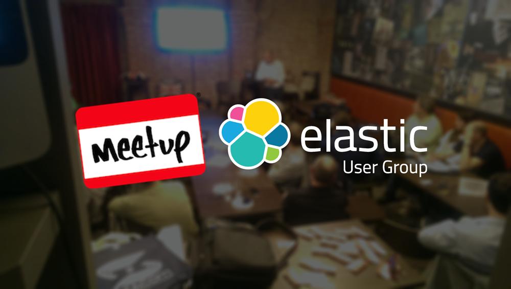 elastic user group meetup