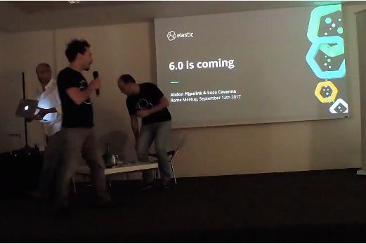 Meetup aperitech: presentazione elastic 6.0