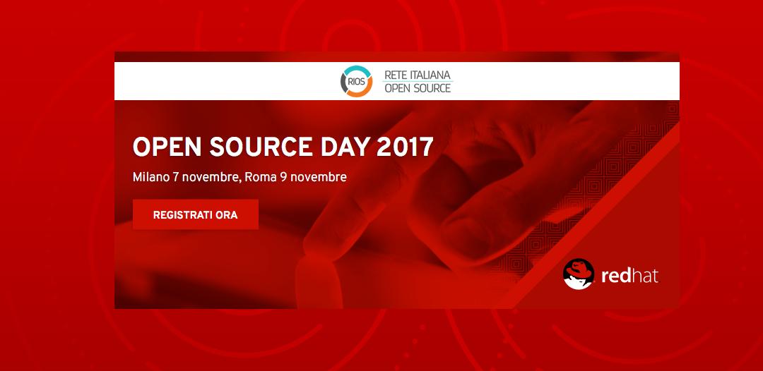 Seacom presente alla prossima edizione di RedHat OSD con RIOS&SMC