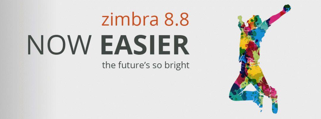 Zimbra Collaboration 8.8! Scopri le novità dela release ufficiale