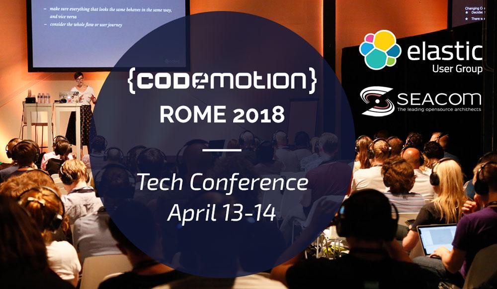Seacom @codemotion 2018!