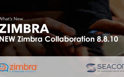 Zimbra Collaboration 8.8.10: una versione tutta da scoprire
