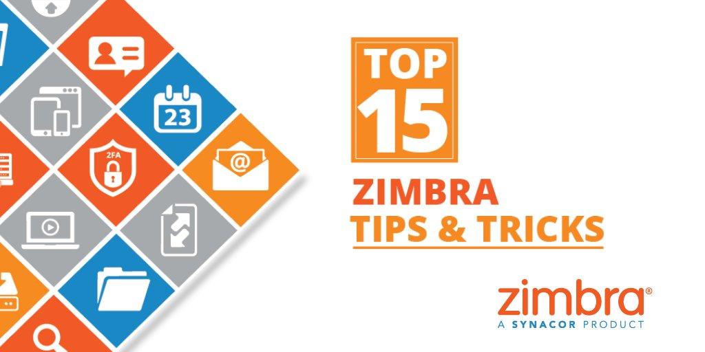 Tre suggerimenti in uno per la vostra esperienza utente in Zimbra