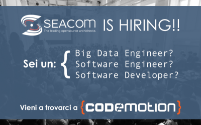 Seacom is hiring! Vi aspettiamo a Codemotion 2019