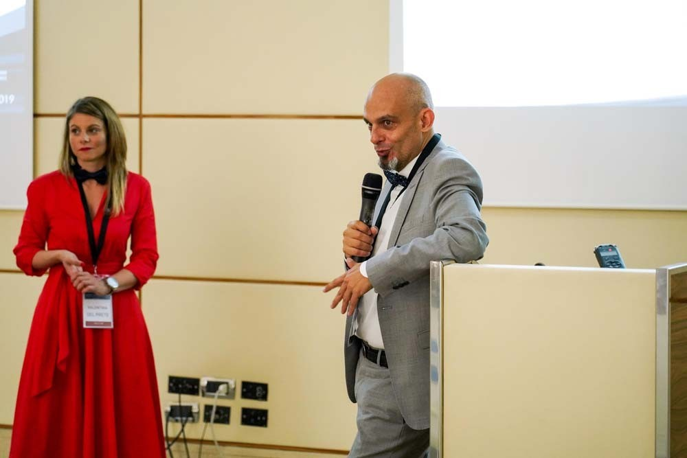 Stefano Pampaloni, Valentina Del Prete