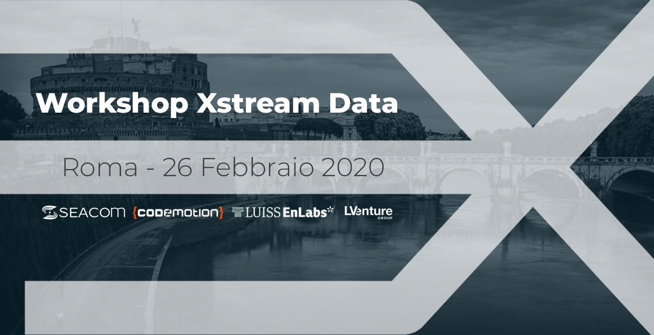Workshop Xstream Data 11-09-2019