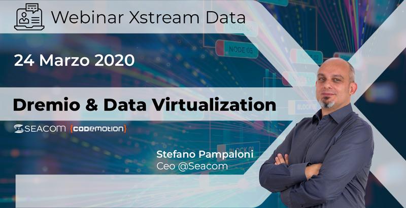 #XStreamData : Seacom & Dremio Pt I