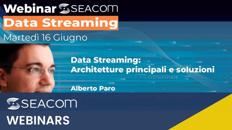 webinar seacom data streaming