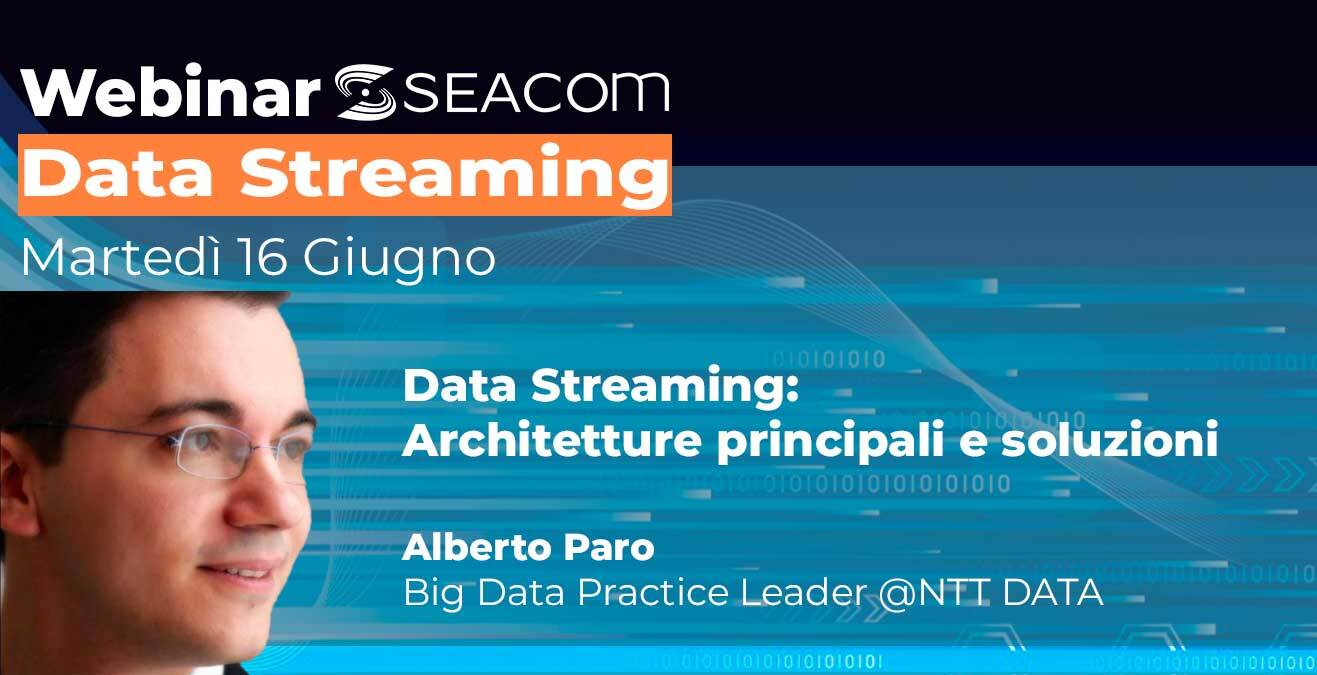 webinar seacom data streaming