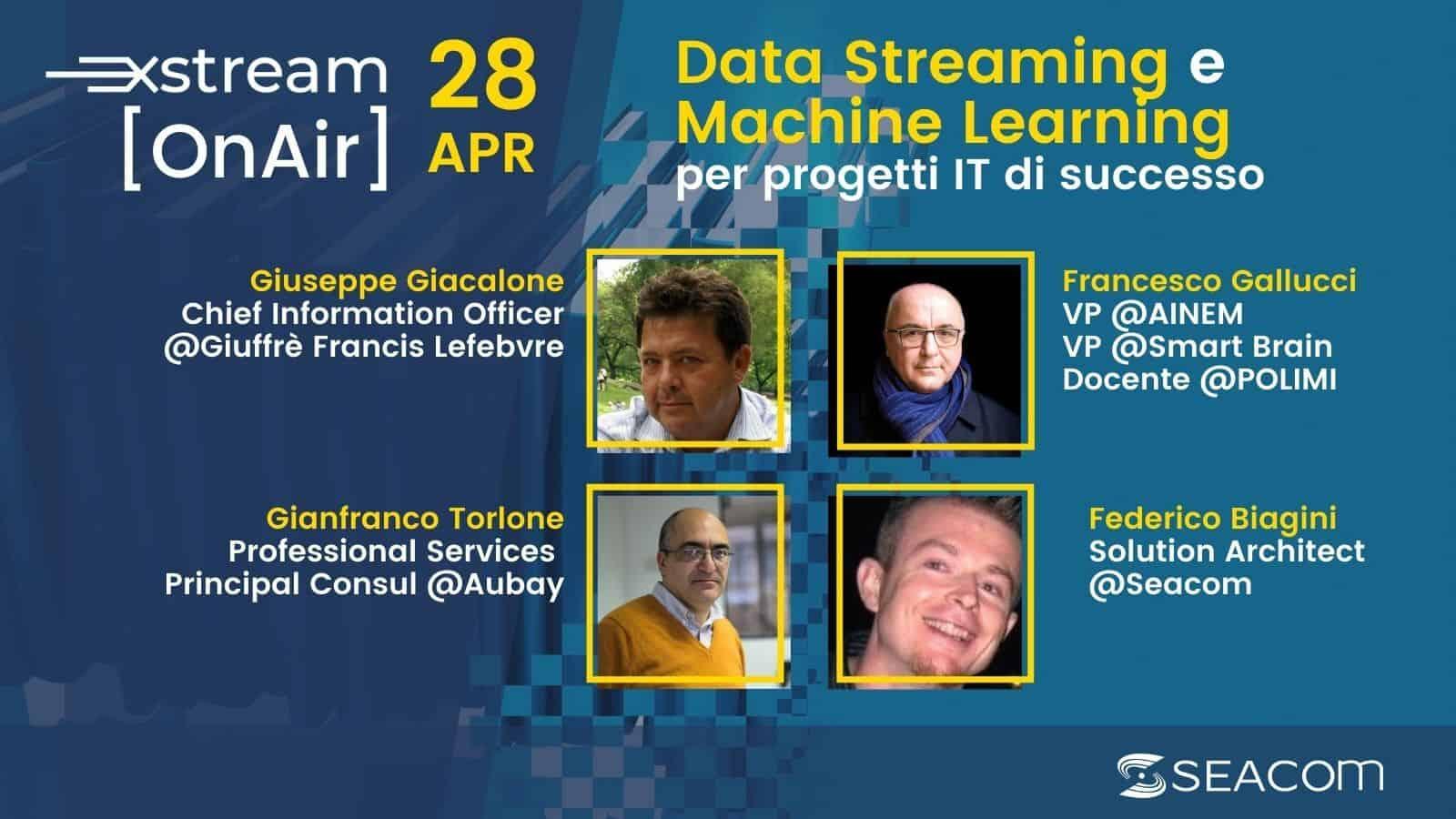 Xstream On Air – Kafka e Data Streaming in progetti IT di successo